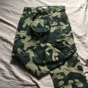 Windsors Camo joggers